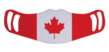 MF1 - Polyester Face Masks (Custom) - <br />